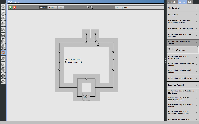 Hvac Template For Standard Split Ac Unmet Hours Drawing Tools Image Description