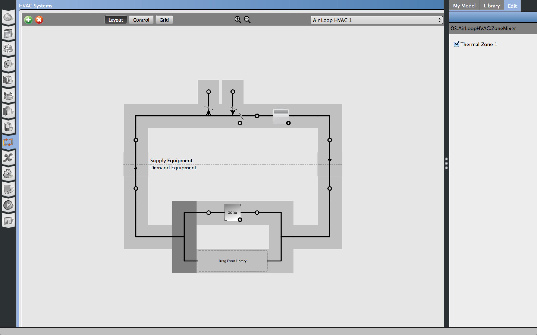Hvac Template For Standard Split Ac Unmet Hours Drawing Layout Image Description