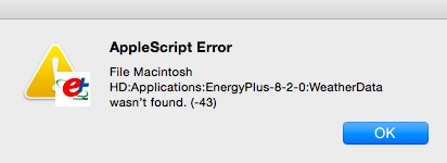AppleScript Error with EP-Launch Lite