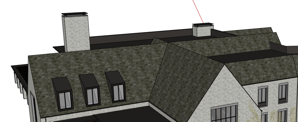 How To Create Pitched Roof In Sketchup With Os Unmet Hours