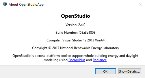 OpenStudio 2 4 can't double click to open  osm files in